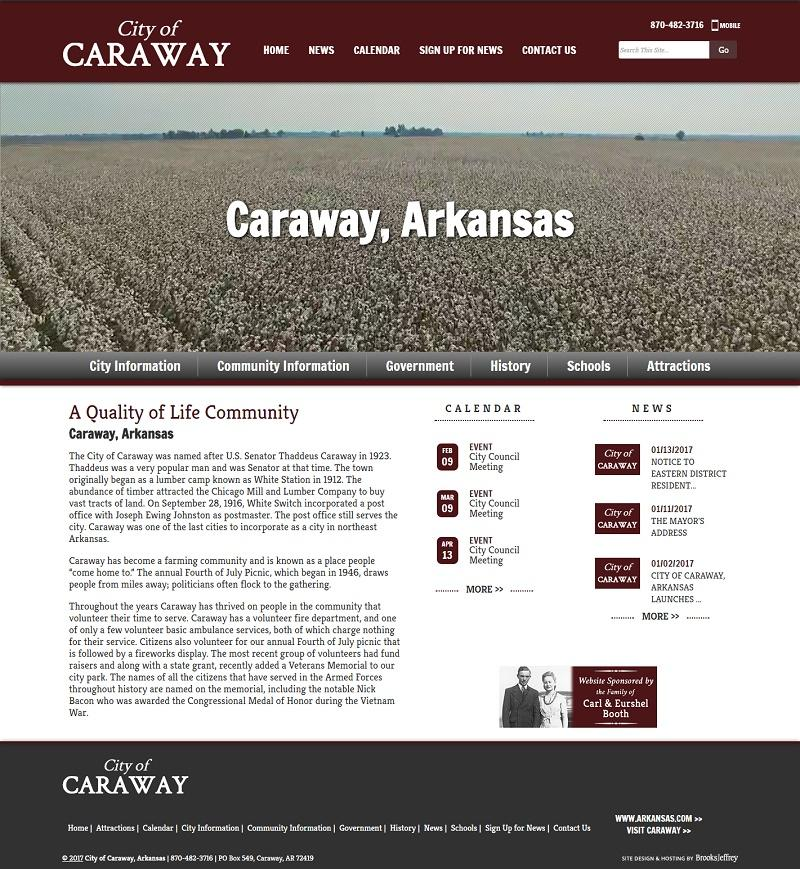 City of Caraway AR