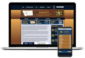 Montana Sheriffs & Peace Officers Association Website Screenshot