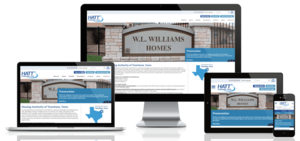 Texarkana Housing Authority, Texas Website Screenshot