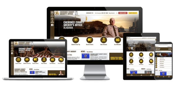 Law Enforcement - Websites for Police | Sheriff | City