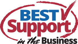 Best Support in the Business logo