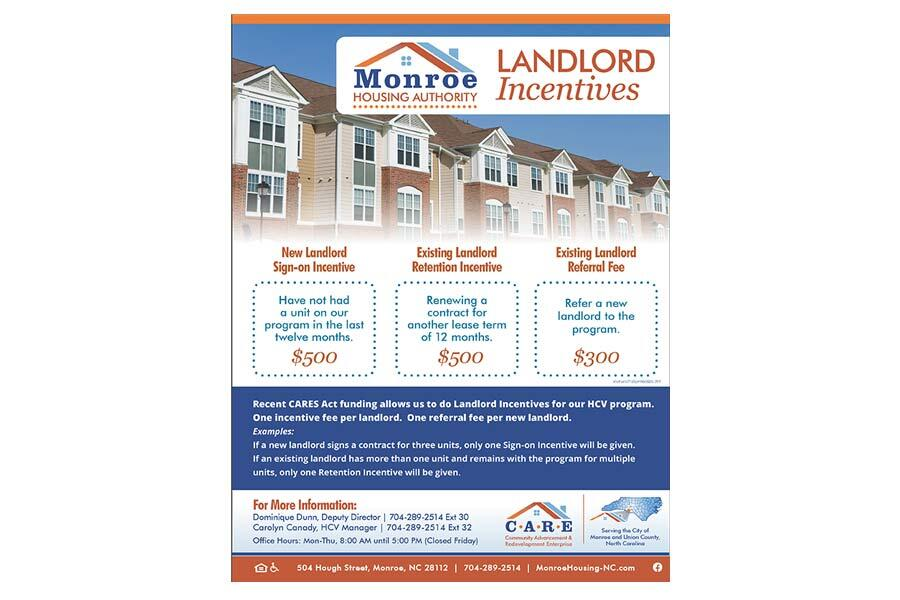 Landlord Incentive Flyer